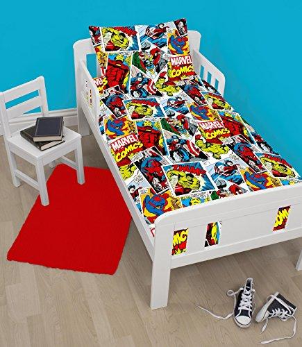 Kinderbettwäsche-Set mit Bettbezug und Kissenbezug–120cm x 150cm