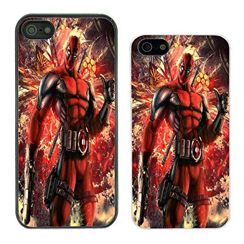got2b Marvel Superheld Comic Book Cover Fall für Apple Nr. 4, Deadpool - G715 - Black, iPhone 4/4S (Fälle Marvel-comic-iphone 4)