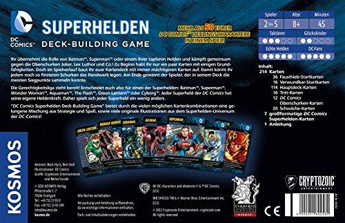 Kosmos-Spiele-692582-DC-Superhelden-Deck-Building-Game