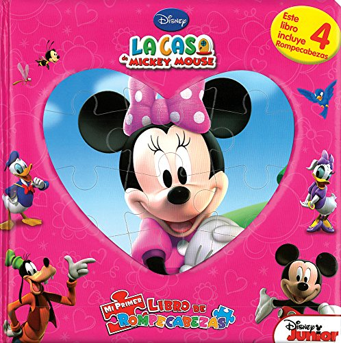 La casa de Mickey Mouse (Minnie)/Mickey Mouse Club House (Minnie) (Mi Primer Libro De Rompecabezas/My First Puzzle Book) por Not Available