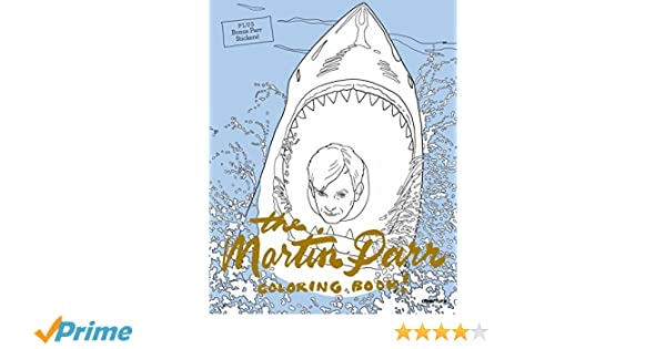 The Martin Parr Coloring Book Colouring Books Amazoncouk Jane Mount