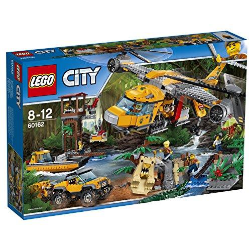 dschungel lego LEGO City 60162 Dschungel-Versorgungshubschrauber