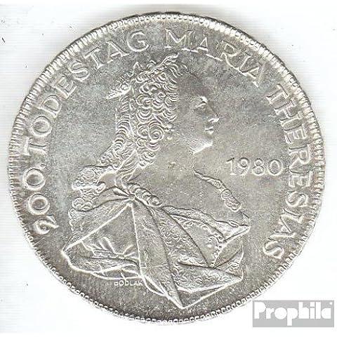 Austria km-No.. : 2949 1980 Stgl./unzirkuliert Plata 1980 500 Schilling Maria Theresa (monedas para los