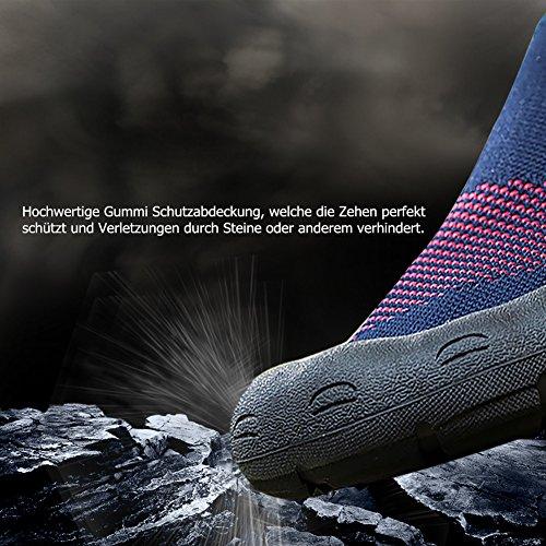 Chaussures Lekuni De Scoglio Chaussures D'immersion Bain Ocean Beach Danse Yoga Respirant Matériau Élastique Slip Superlight Chaussures Unisexe Garçons Hommes Femmes Noir-wz
