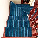 BBYE Haushalt Extra Dicken Anti-Rutsch-Teppich Matten Massivholz Selbstklebende Treppenstufen Pads (Farbe : 1 Piece, größe : B-90 * 24cm)