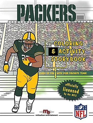 Green Bay Packers Coloring & Activity Storybook by Brad M. Epstein (2015-06-20)