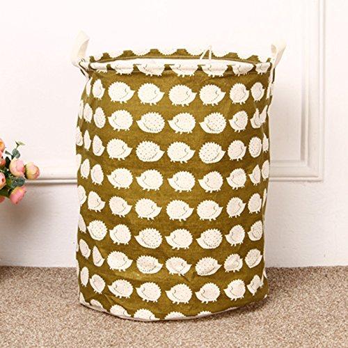 QHGstore Cotone impermeabile barili fascio Port bagagli lavanderia del cestino di immagazzinaggio Cestino Benna Port & riccio fascio M