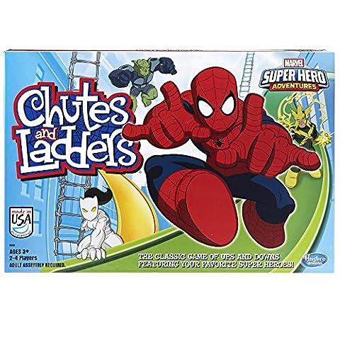Marvel Spider-Man Web Warriors Chutes & Ladders