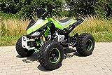 Kinder Quad S-14 125 cc Motor Miniquad 125 ccm grün