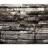 decomonkey Fototapete Holz 400x280 cm XXL Design Tapete Fototapeten Vlies Tapeten Vliestapete Wandtapete moderne Wand Schlafzimmer Wohnzimmer FOA0028c84XL
