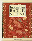 Front cover for the book Indonesian batik & ikat : textile art-threads of continuity by Bedrich Forman