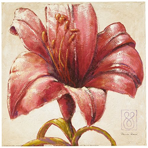 eurographics-pre1110-stampa-artistica-red-lily-bloom-di-paula-reed-30x30-cm