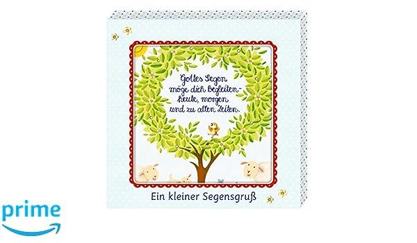 Leinwandbild - Gottes Segen: Ein kleiner Segensgruß: Amazon.de: Anne ...