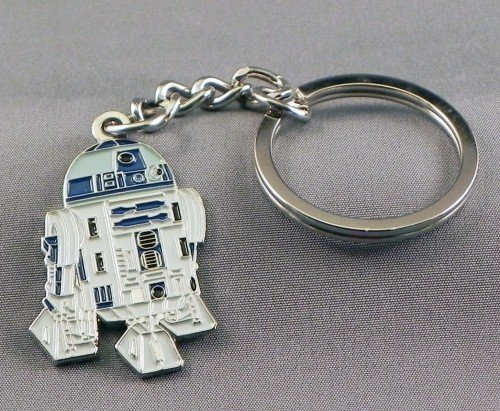 Mainly Metal keyrings-portachiavi, Metall, emailliert, Droid R2D2 von Star Wars (R2-D2) -