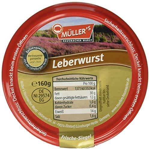 Müller's Leberwurst, 160 g