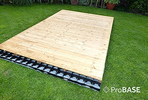 61kOSfGfcoL - GARDEN SHED BASE 7ft x 5ft SYSTEM- 15 PROBASE GRIDS (Plastic)