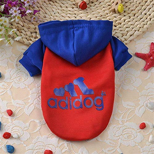 Kuchenrock Verkleidungen Wintermäntel Puppy Clothes Grundlegende Hundeshirt weiche Baumwolle Cute Dog Jumpsuit Puppy Outfit für Hunde Katzen Pullover Outwear Kostüm slimfit Atmungsaktiv Large große (Cute Dog Kostüm Für Große Hunde)