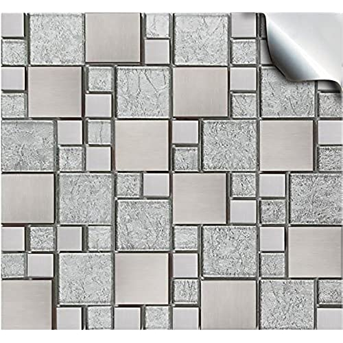 Bathroom Self Adhesive Tiles: Amazon.co.uk