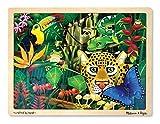 Puzzle en bois - forêt tropicale [Jouet]