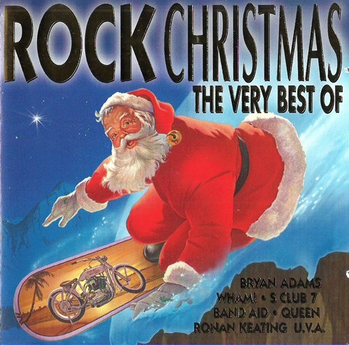 Very Best Of Christmas (Doppel-CD, 40 rockige Weihnachts-Hits, incl. Thank God It's Christmas, Driving Home For Christmas, Fairytale Of New York, Mistletoe And Wine, The Power Of Love, Winter Wonderland etc.)