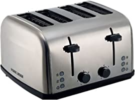 Black+Decker Pop Up Toaster - Et304-B5, Silver