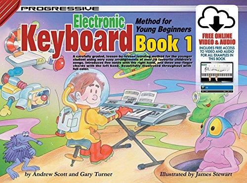 Progressive Keyboard Method for Young Beginners: Bk. 1: Book 1 / CD Pack (Progressive Young Beginners) by Andrew Scott (2004-01-01)