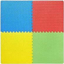 FABELBUNT 4 juegos de colchonetas puzle (colchonetas de deporte, de bebé, de niños, de yoga, de suelo, de fitness)
