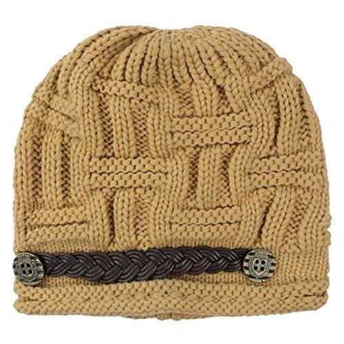 gomaz Frauen Knit Schnee Hut Winter Snowboard Mütze Crochet Cap - Snowboard Hut, Mütze,