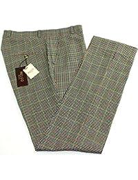Herren Relco klassisch Multi Tweed bügelfreie Hose