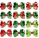 Wdoit di Natale per bambini copricapo Tornante costole con sei orecchie  stampato Bowknot Tornante forcina ragazza 30a0cb81d9d7