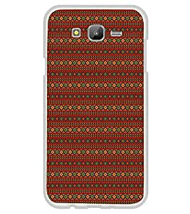 Colourful Pattern 2D Hard Polycarbonate Designer Back Case Cover for Samsung Galaxy On5 (2015) :: Samsung On 5