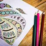 64 Page Adult Colouring Book Anti Stress Art Therapy Positive Zen Soothing Calm by PMS®