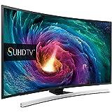 Samsung - TV LED SUHD curvo 55'' UE55JS8500 UHD 4K, 3D, Wi-Fi y Smart TV