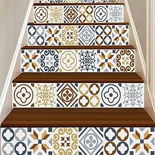 Quistal Aufkleber Zum Abziehen Und Aufkleben, Fliesenspiegel, Treppen,  Mexikanische Fliesen Aufkleber