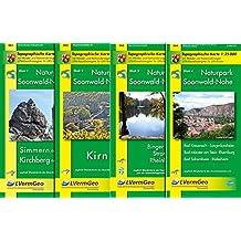 Naturpark Soonwald-Nahe /Kirchberg (Hunsrück), Simmern (Hunsrück), Kirn, Binger Wald, Stromberg, Rheinböllen, Bad Kreuznach, Langenlohnsheim, Bad ... Rheinland-Pfalz 1:15000 /1:25000)
