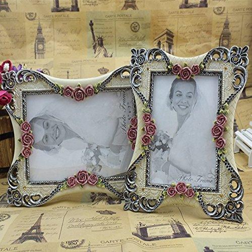 XBR Regalo de cumpleaños _ European de todos modos dos swing mesa resina marco de fotos boda regalo...