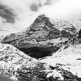 Digitaldruck / Poster Dave Butcher - Eiger North Face - 90
