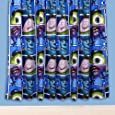Character World 54-inch Disney Monsters University Curtains, Multi-Color