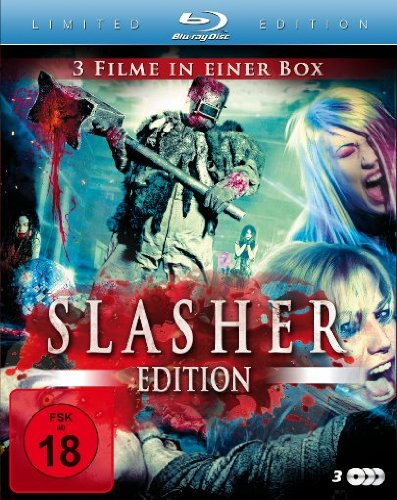 Slasher Edition (Kill Theory / Summer's Moon / Sweatshop) (3 Blu-rays)[Blu-ray] [Limited Edition]