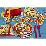 Curious George Dessert Plates (8 Count)
