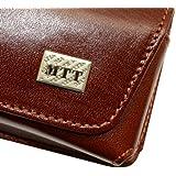 MTT Original Quer-Tasche mit Gürtelclip für Apple iPhone 5 / 5S /5C braun