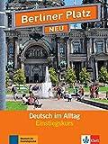 Einstiegskurs Plus Paket: Deutsch im Alltag . Lehr- und Arbeitsbuch mit 2 Audio-CDs + Zusatztraining (Berliner Platz NEU)