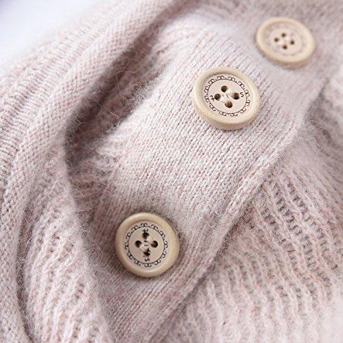 Zhili Frauen Kaschmir Pullover Pullover Beige