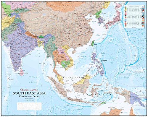 south-east-asia-wall-map-global-mapping-continental-series-large