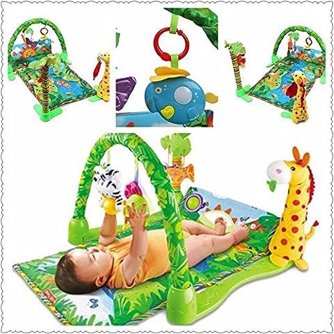 Kungfu Mall Foresta pluviale Bambino Bambino Musicale