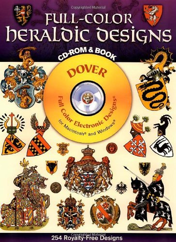 Full-color Heraldic Designs (Dover full-color electronic design series)