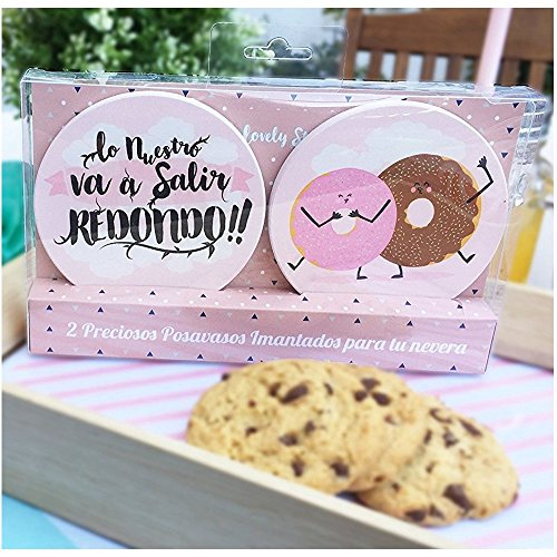 Posavasos Imantados Lovely Story Donuts