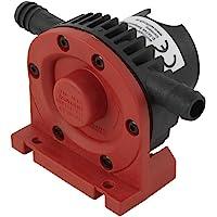 wolfcraft Bohrmaschinen Pumpe mit Kunststoffgehäuse 2202000   Selbstansaugende Wasserpumpe mit leistungsstarken 1300 l/h - ideal für Haushalt oder Garten