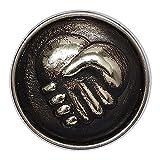 Noosa Chunk Amicitia silver - metal