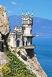 Puzzle 1500 Teile - Insel Krim Ukraine - Schlößer und Burgen - Am See - schwarzes Meer / Landschafts Motiv - Urlaub